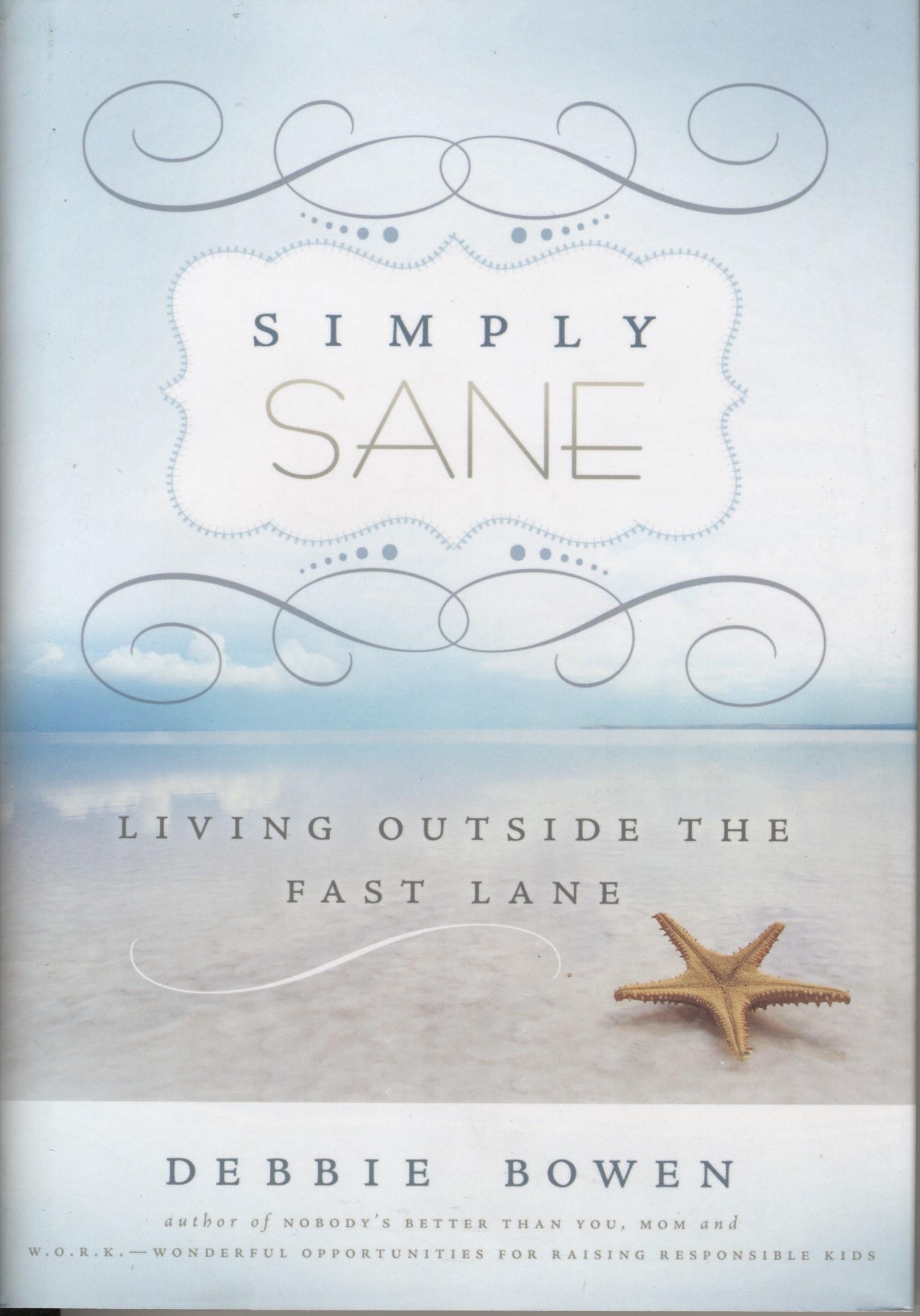 Simply Sane book cover