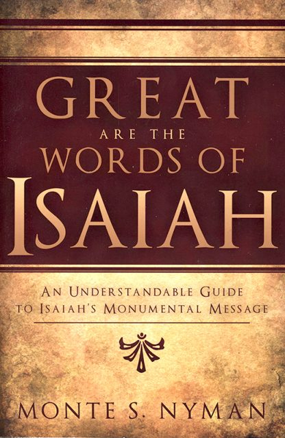 Great Are the Words of Isaiah book cover