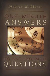 One-Minute Answers To Anti-Mormon Questions book cover