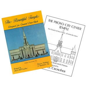 Temple X-Stitch LEAFLETS